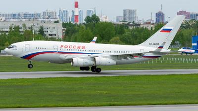 A picture of RA96018 - Ilyushin Il96300 - Rossiya  Special Flight Squadron - © ArCher