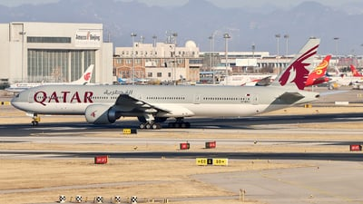 A picture of A7BAJ - Boeing 7773DZ(ER) - Qatar Airways - © 5947