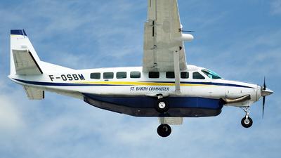 F-OSBM - Cessna 208B Grand Caravan - St Barth Commuter