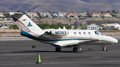 N52KX - Cessna 525 Citationjet CJ1 - Private