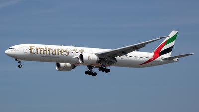 A6-EQD - Boeing 777-31HER - Emirates