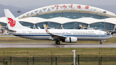 B-1418 - Boeing 737-89L - Air China Inner Mongolia