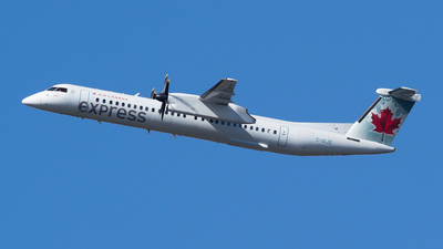 C-GIJZ - Bombardier Dash 8-Q402 - Air Canada Express (Jazz Aviation)