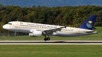 HZ-AS31 - Airbus A320-214 - Saudi Arabian Airlines