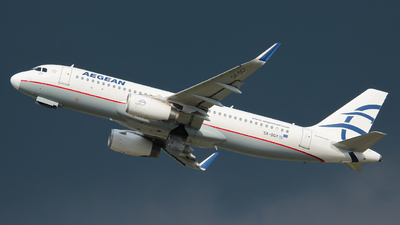 A picture of SXDGY - Airbus A320232 - Aegean Airlines - © Flavio Renzi