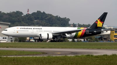 Z-RGM - Boeing 777-2H6(ER) - Zimbabwe Airways