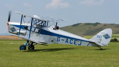 G-ACEJ - De Havilland DH-83 Fox Moth - Private
