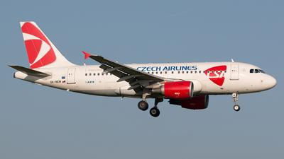 OK-NEM - Airbus A319-112 - CSA Czech Airlines