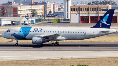 CS-TKP - Airbus A320-214 - SATA International