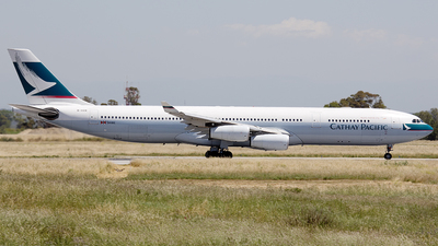 B-HXK - Airbus A340-313X - Cathay Pacific Airways