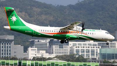 B-17011 - ATR 72-212A(600) - Uni Air