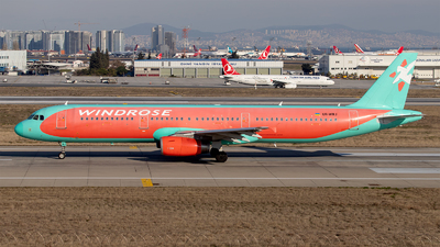 UR-WRJ - Airbus A321-231 - Wind Rose Aviation
