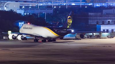 N605UP - Boeing 747-84AF - United Parcel Service (UPS)