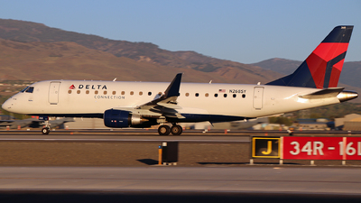A picture of N268SY - Embraer E175LR - Delta Air Lines - © Nate Morin