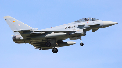 31-49 - Eurofighter Typhoon EF2000 - Germany - Air Force