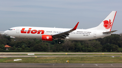 A picture of PKLPS - Boeing 7378GP - Lion Air - © Arvin L