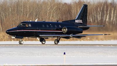 N65SL - Rockwell Sabreliner 65 - Private