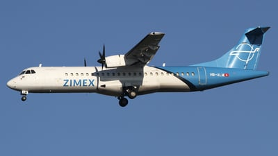 HB-ALM - ATR 72-202(F) - Zimex Aviation
