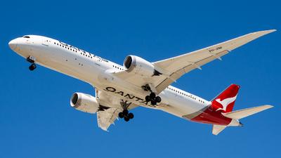A picture of VHZNI - Boeing 7879 Dreamliner - Qantas - © Steve Worner