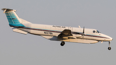 N127BA - Beech 1900C - Alpine Air