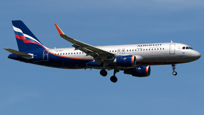 A picture of VQBPU - Airbus A320214 - Aeroflot - © Maximilian Haertl