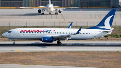 TC-JGF - Boeing 737-8F2 - AnadoluJet