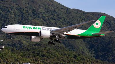 B-16785 - Boeing 777-F5E - Eva Air Cargo