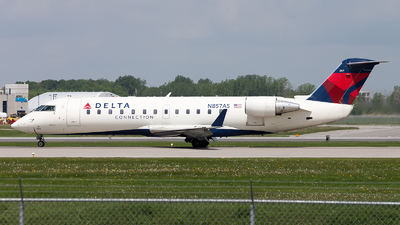 N857AS - Bombardier CRJ-200ER - Delta Connection (ExpressJet Airlines)