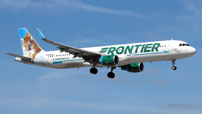 A picture of N718FR - Airbus A321211 - Frontier Airlines - © Eddie Heisterkamp