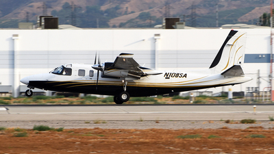 N108SA - Rockwell 690B Turbo Commander - Private