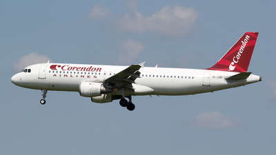 YL-LCH - Airbus A320-211 - Corendon Airlines (SmartLynx Airlines)