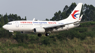 B-5821 - Boeing 737-79P - China Eastern Airlines