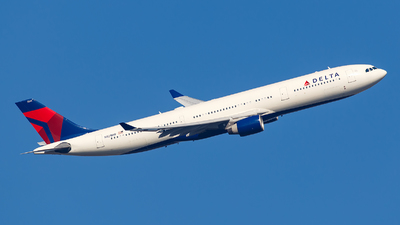N821NW - Airbus A330-323 - Delta Air Lines