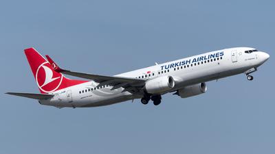 A picture of TCJVM - Boeing 7378F2 - Turkish Airlines - © Turkay Oksuz