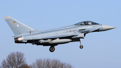 31-45 - Eurofighter Typhoon EF2000 - Germany - Air Force