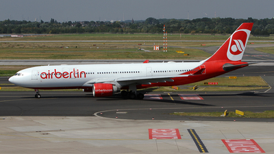 D-ALPD - Airbus A330-223 - Air Berlin