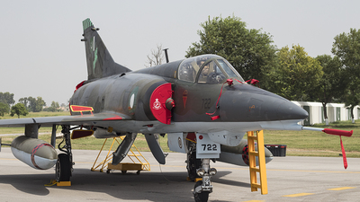 96-722 - Dassault Mirage 3V - Pakistan - Air Force