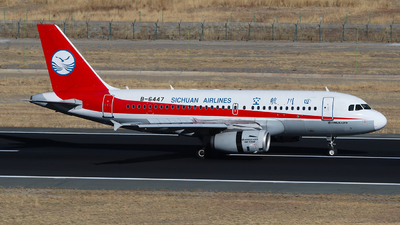 A picture of B6447 - Airbus A319133 - Sichuan Airlines - © SEN BAI