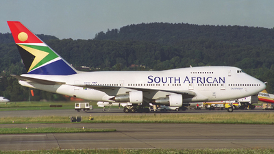 ZS-SPB - Boeing 747SP-44 - South African Airways