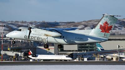 A picture of CFGRC - De Havilland Canada Dash 8100 - [195] - © GN
