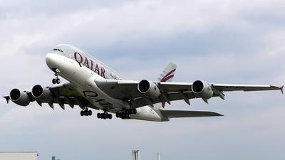 F-WWAO - Airbus A380-861 - Qatar Airways