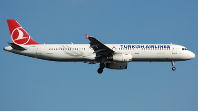 TC-JRM - Airbus A321-231 - Turkish Airlines