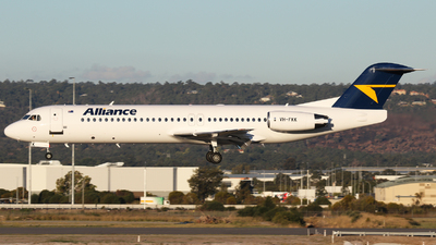VH-FKK - Fokker 100 - Alliance Airlines