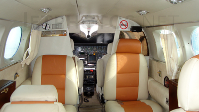 EC-IPO - Cessna 421B Golden Eagle - Center Vol