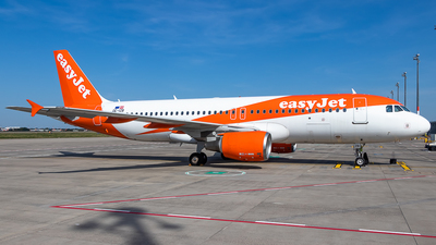 A picture of OEIZB - Airbus A320214 - easyJet - © James Dinsdale