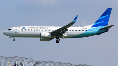 A picture of PKGMV - Boeing 7378U3 - Garuda Indonesia - © M. Raykahn Ariga
