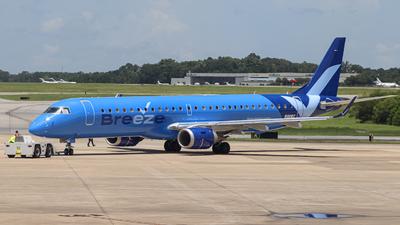 N190BZ - Embraer 190-200IGW - Breeze Airways