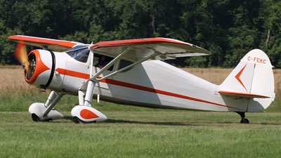 C-FEKC - Fairchild 24W-46 - Private