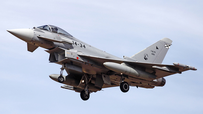 C.16-76 - Eurofighter Typhoon EF2000 - Spain - Air Force