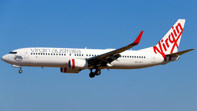 A picture of VHYFY - Boeing 7378FE - Virgin Australia - © Robbie Mathieson